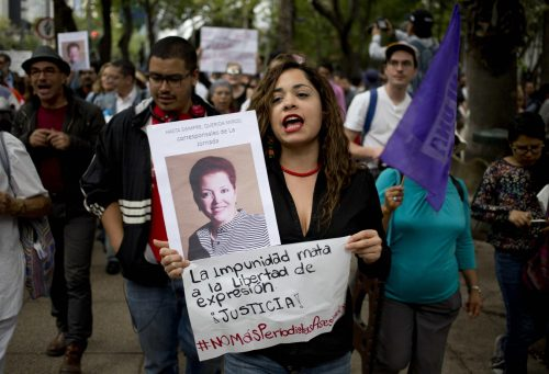 Mexico is an extremely unsafe country for journalists.