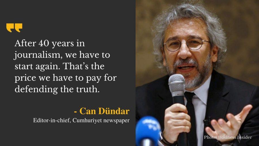 Turkey journalist Dündar sentenced to 27 years in jail