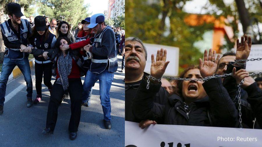 Freedom of speech in Turkey is in a vulnerable state