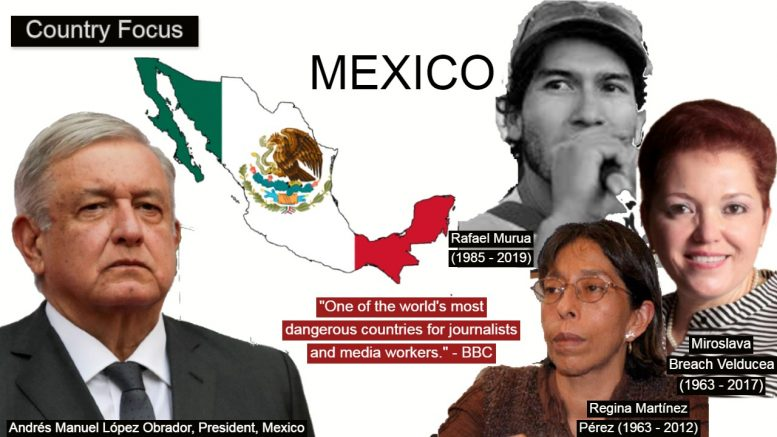 Mexico is unsafe for journalists.