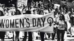 Women March for Equal Rights