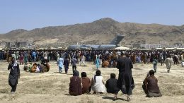 Kabul Airport Evacuation File Image