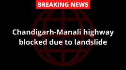 Chandigarh-Manali highway blocked
